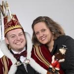 2018 Prins Jelle I van Hees en Prinses Mariska